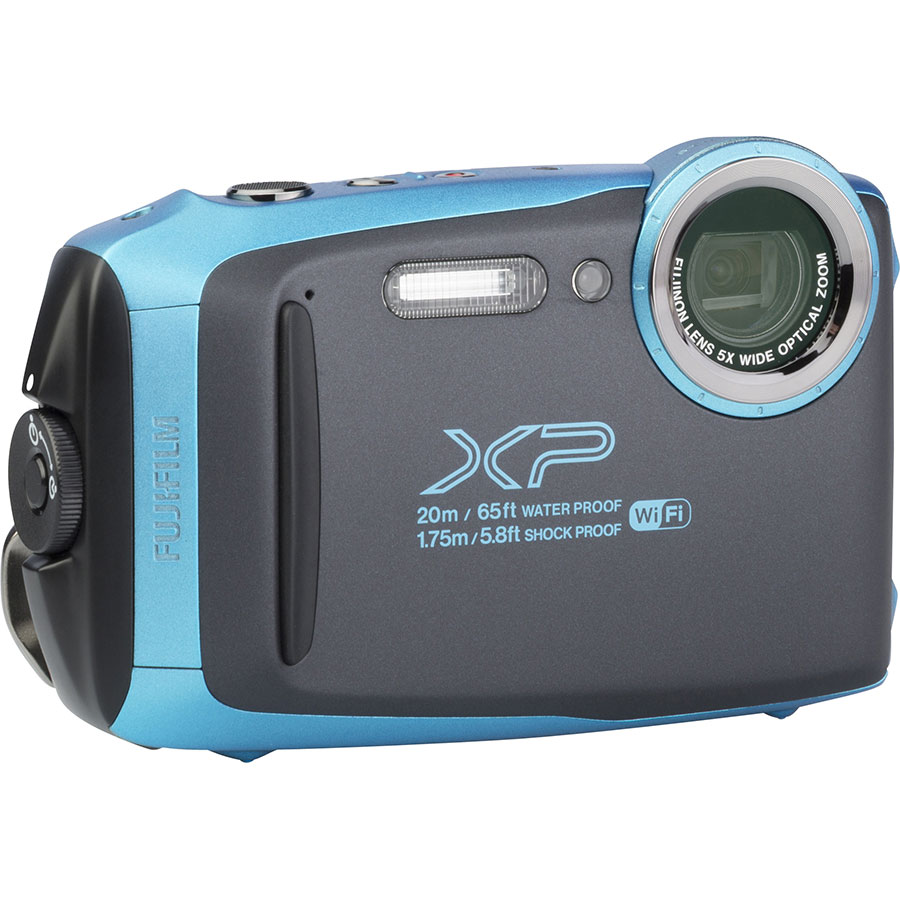 Fujifilm FinePix XP130 - Vue de 3/4 vers la droite
