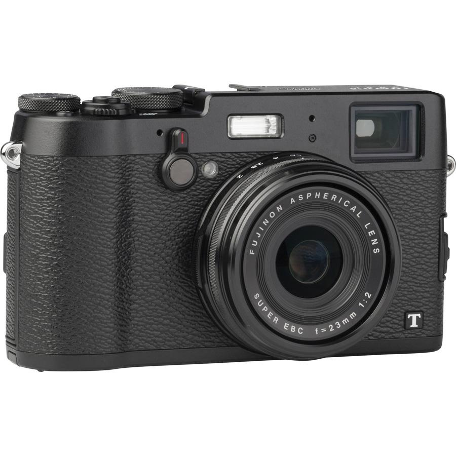 Fujifilm X100T - Vue du dessus