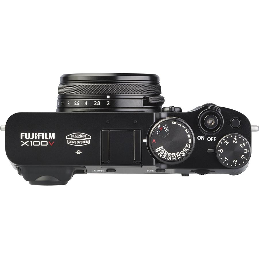 Fujifilm X100V - Vue de dessus