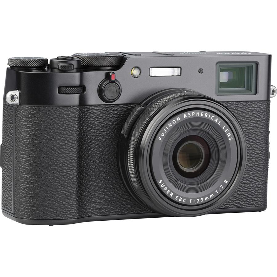 Fujifilm X100V - Vue de 3/4 vers la droite