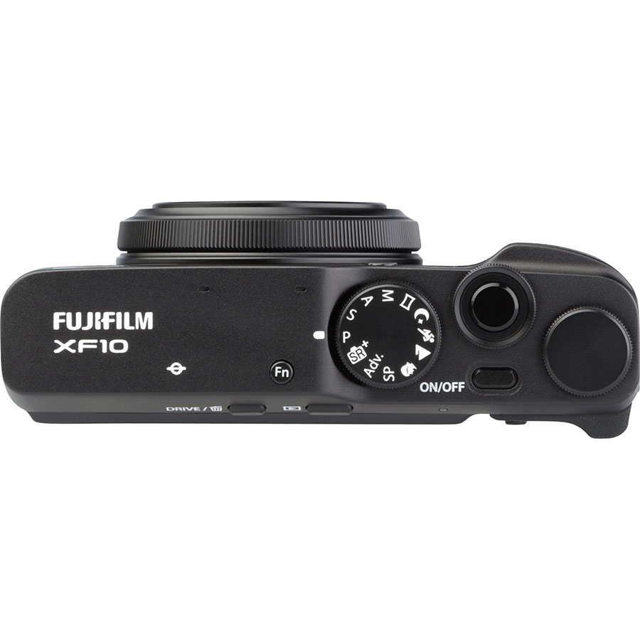 Fujifilm XF10 - Vue du dessus