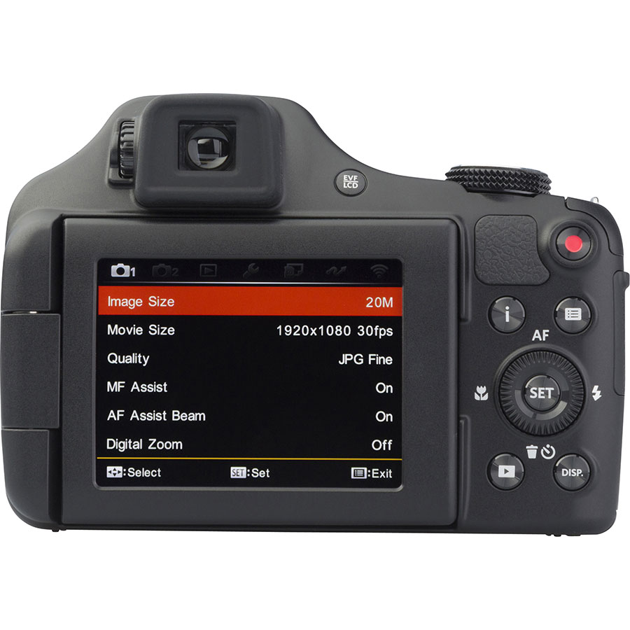 Kodak Pixpro AZ652 - Vue de dos
