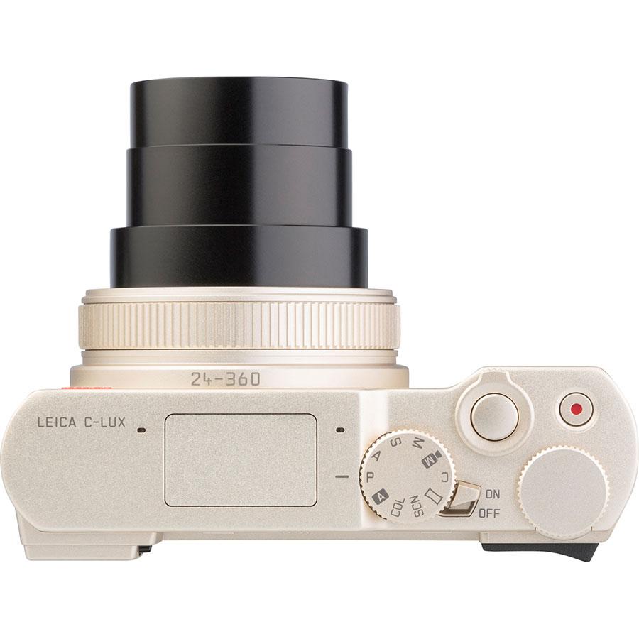 Leica C-Lux - Vue du dessus