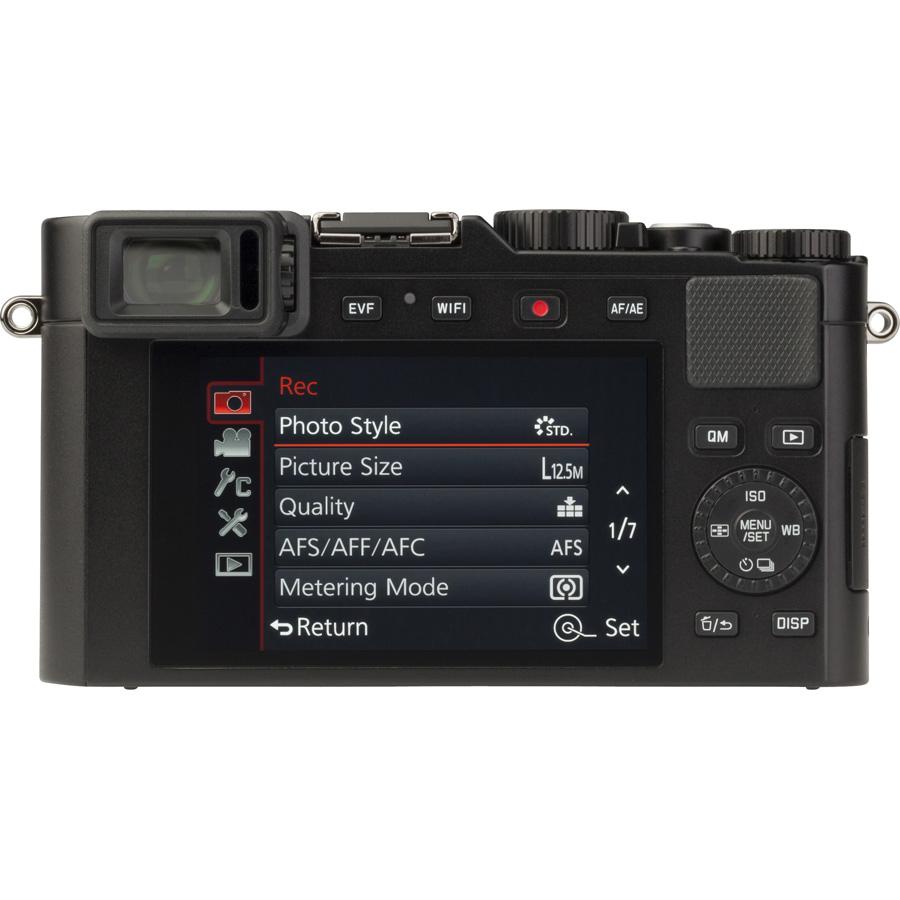 Leica D-Lux (Type 109) - Vue de dos