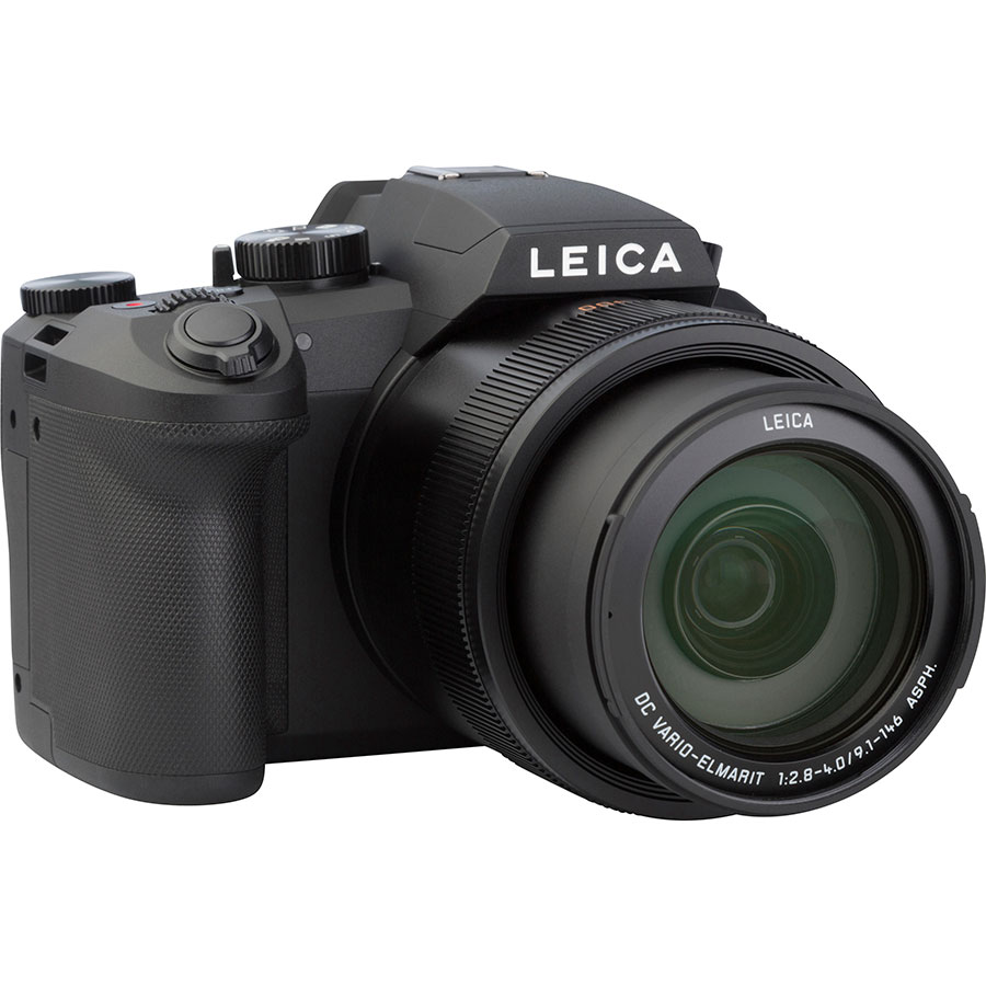 Leica V-Lux 5 - Vue de 3/4 vers la droite