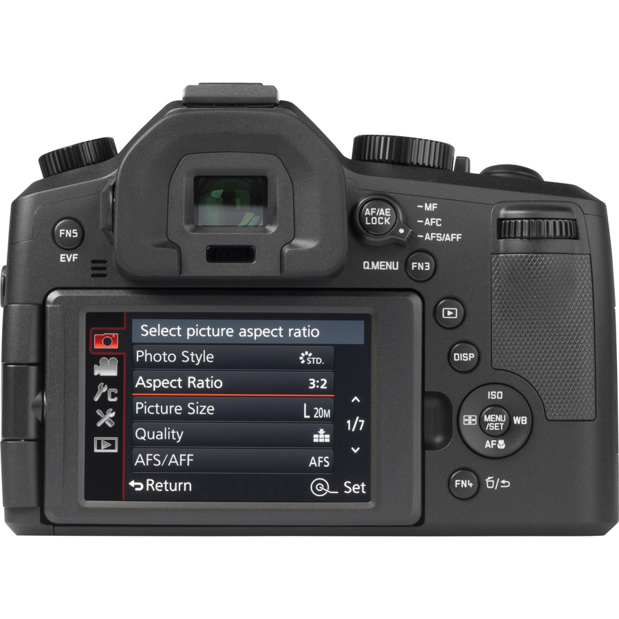 Leica V-Lux (Type 114) - Vue de dos