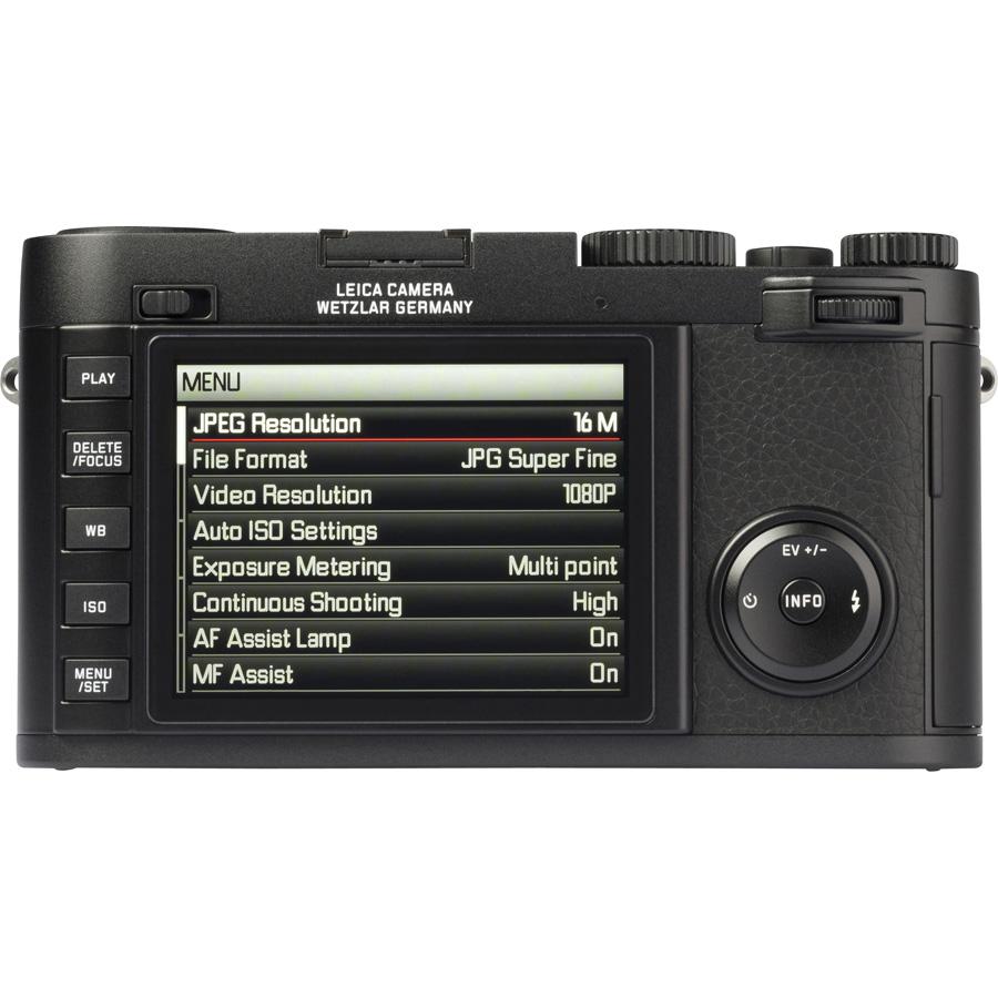 Leica X (Type 113) - Vue du dessus