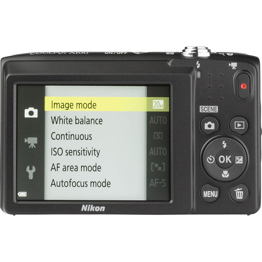 Nikon Coolpix A100 - Vue de dos