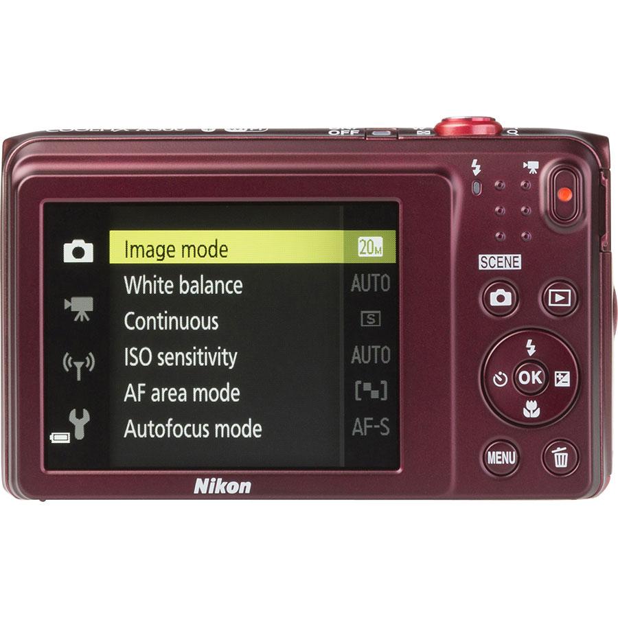 Nikon Coolpix A300 - Vue de dos