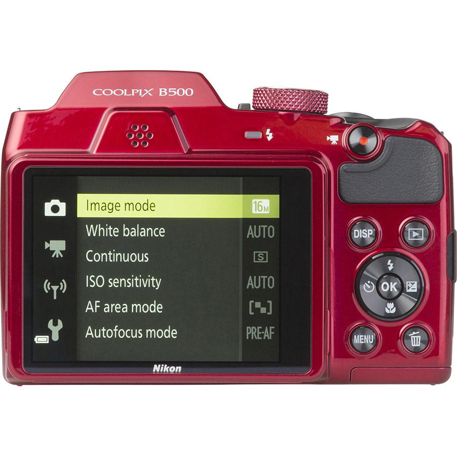 Nikon Coolpix B500 - Vue de dos
