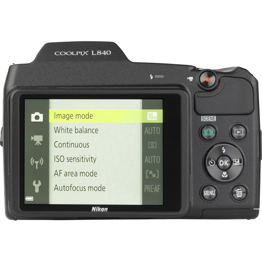 Nikon Coolpix L840 - Vue de 3/4 vers la droite