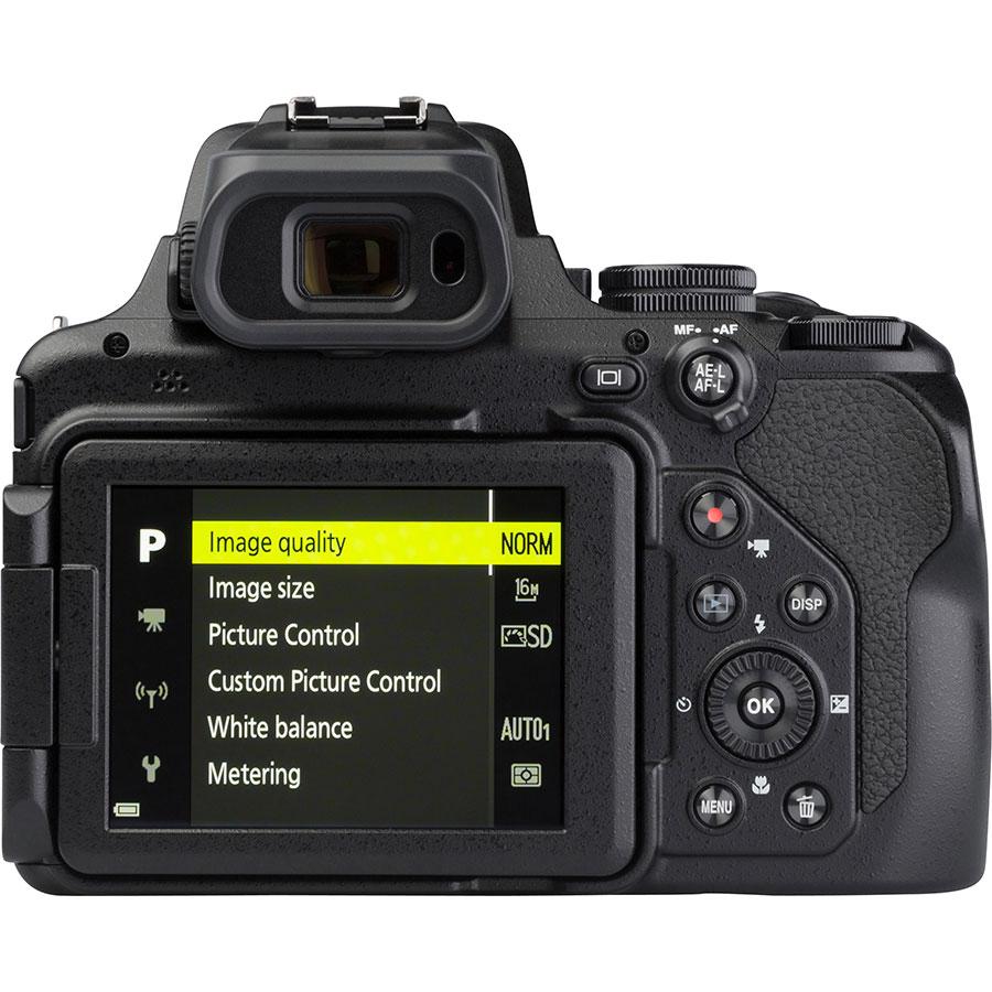 Nikon Coolpix P1000 - Vue de dos