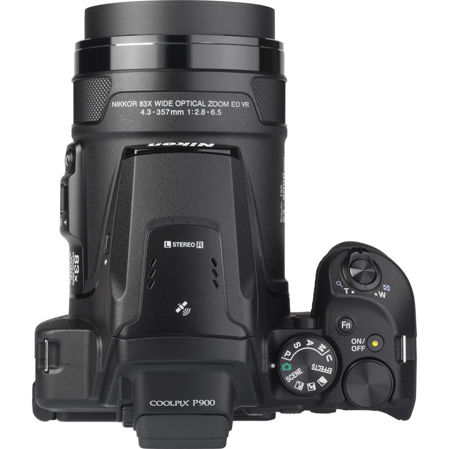 Nikon Coolpix P900 - Vue de dos
