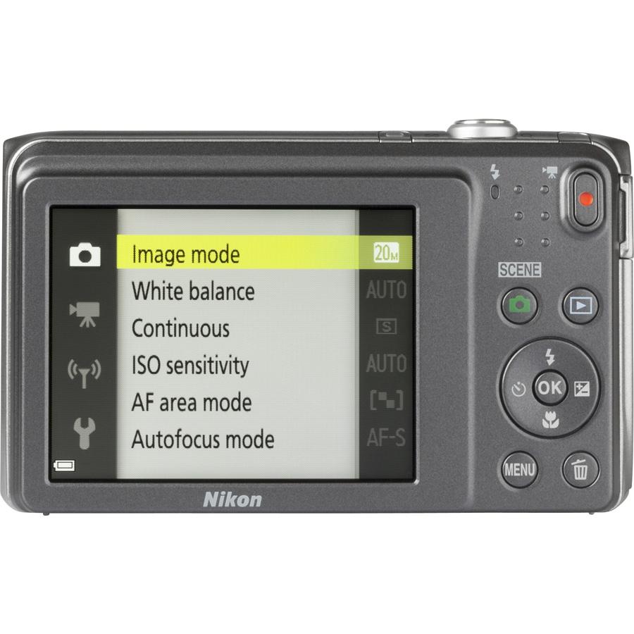 Nikon Coolpix S3700 - Vue de 3/4 vers la droite