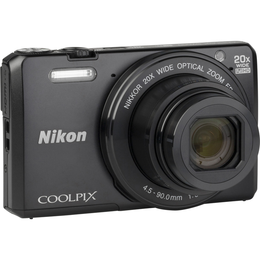 Nikon Coolpix S7000 - Vue du dessus