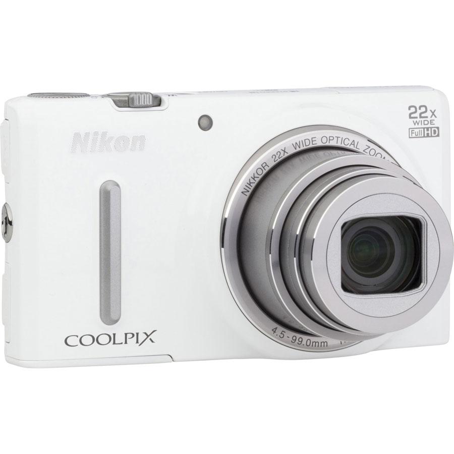 Nikon Coolpix S9600 - Vue de 3/4 vers la droite