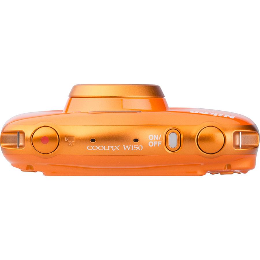 Nikon Coolpix W150 - Vue du dessus