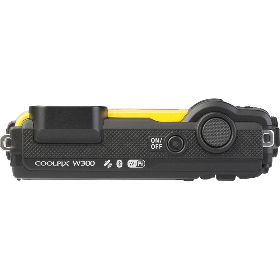 Nikon Coolpix W300 - Vue du dessus