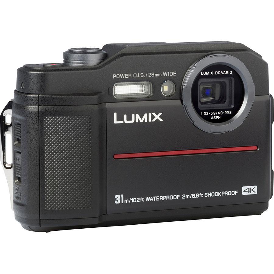 Panasonic Lumix DC-FT7 - Vue de 3/4 vers la droite