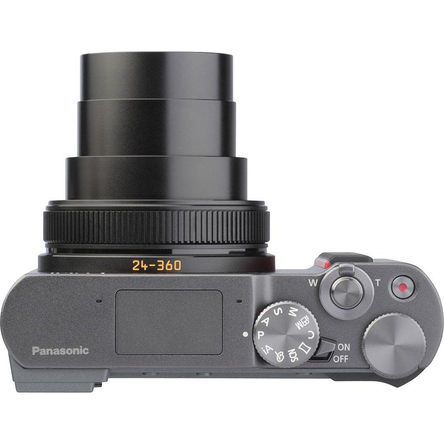 Panasonic Lumix DC-TZ200 - Vue du dessus