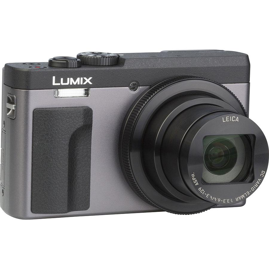 Panasonic Lumix DC-TZ90 - Vue de 3/4 vers la droite