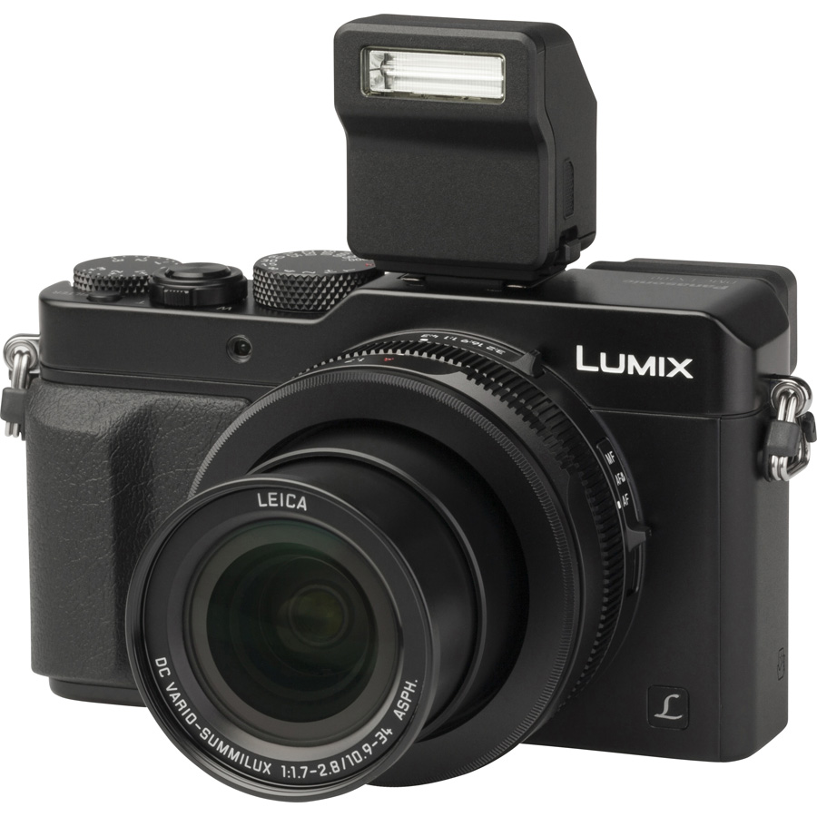 Panasonic Lumix DMC-LX100 - Vue principale