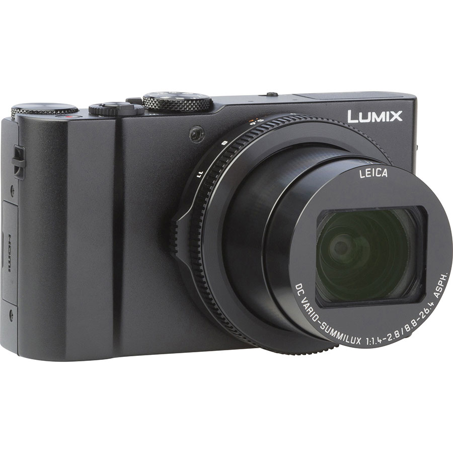 Panasonic Lumix DMC-LX15 - Vue de face