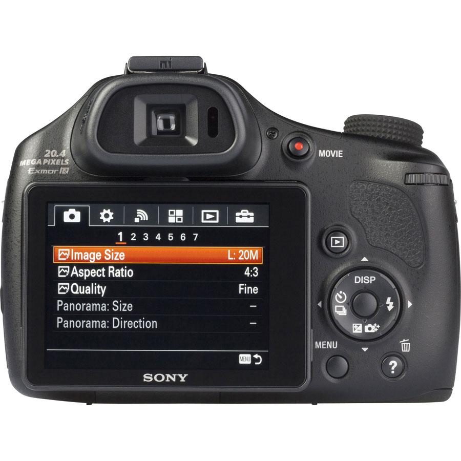 Sony Cyber-Shot DSC-HX400V - Vue de dos