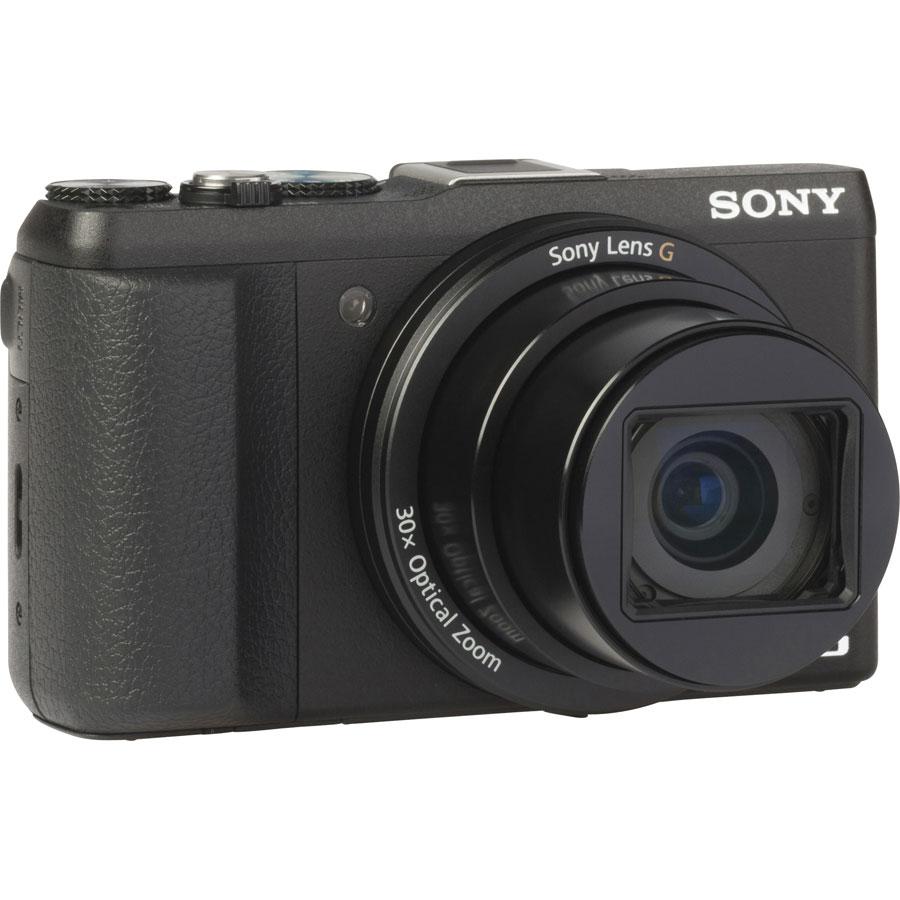Sony Cyber-Shot DSC-HX60 - Vue de 3/4 vers la droite