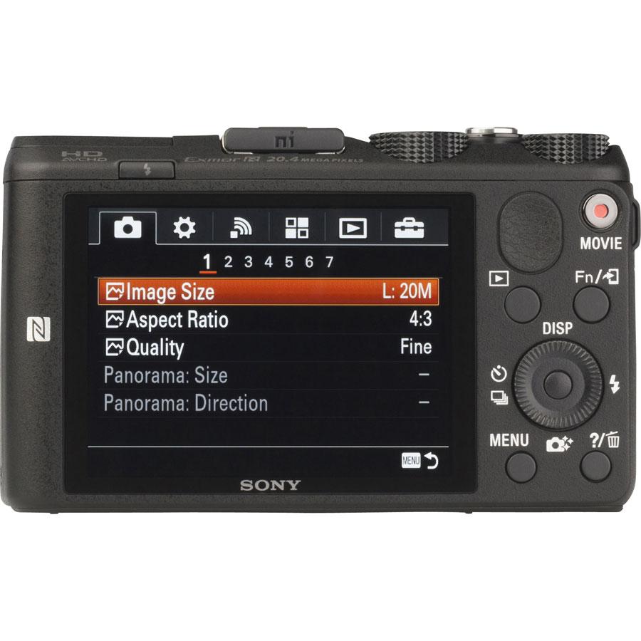 Sony Cyber-Shot DSC-HX60 - Vue de dos