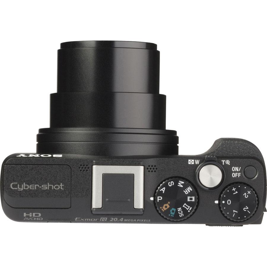 Sony Cyber-Shot DSC-HX60 - Vue du dessus