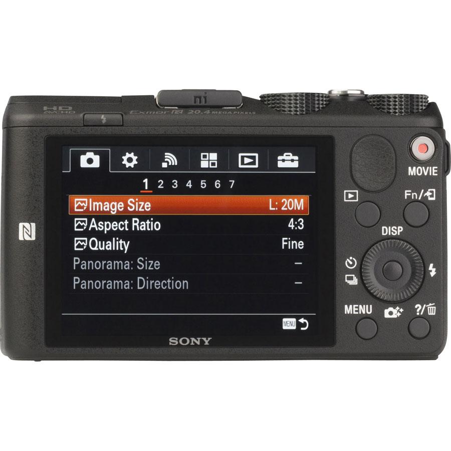 Sony Cyber-Shot DSC-HX60V - Vue de dos