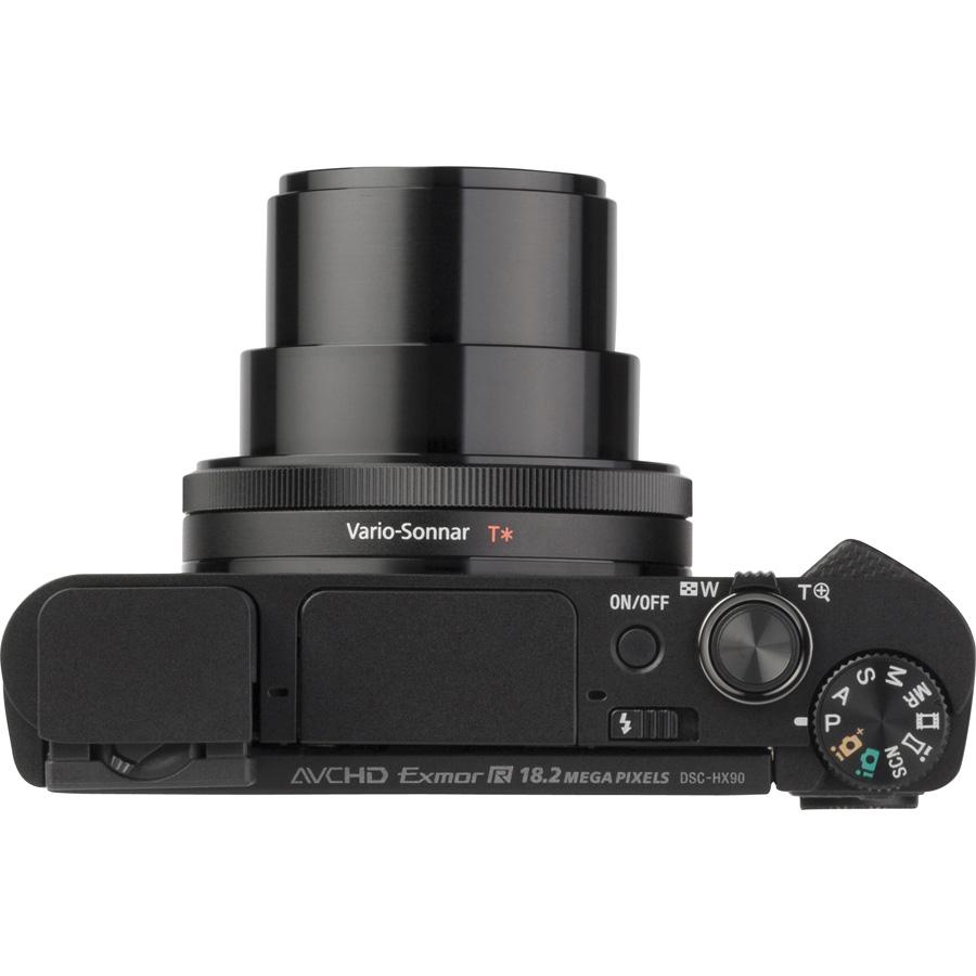 Sony Cyber-Shot DSC-HX90 - Vue du dessus
