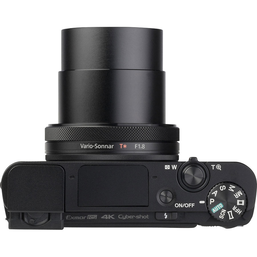 Sony Cyber-Shot DSC-RX100M4 - Vue du dessus