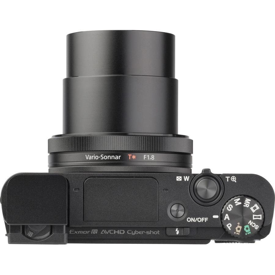 Sony Cyber-Shot DSC-RX100M3 - Vue du dessus