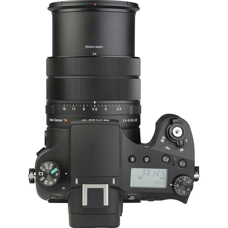 Sony Cyber-Shot DSC-RX10M4 - Vue du dessus
