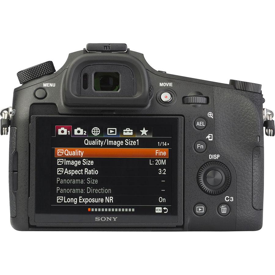 Sony Cyber-Shot DSC-RX10M4 - Vue de dos