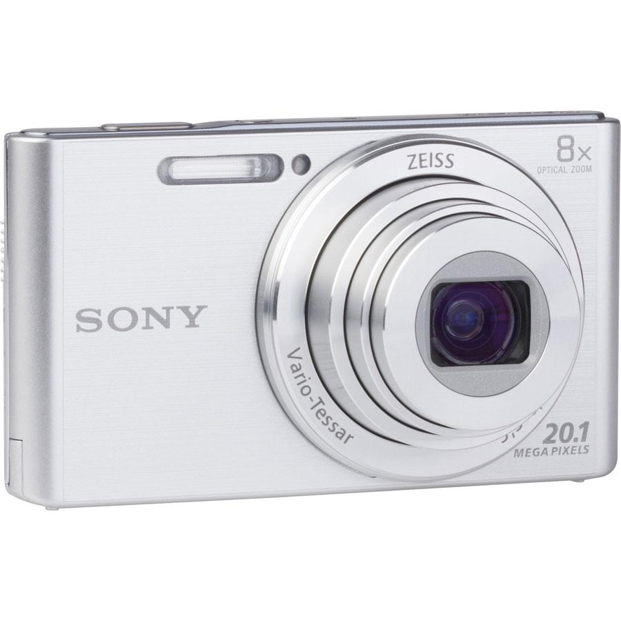 Sony Cyber-Shot DSC-W830 - Vue de 3/4 vers la droite