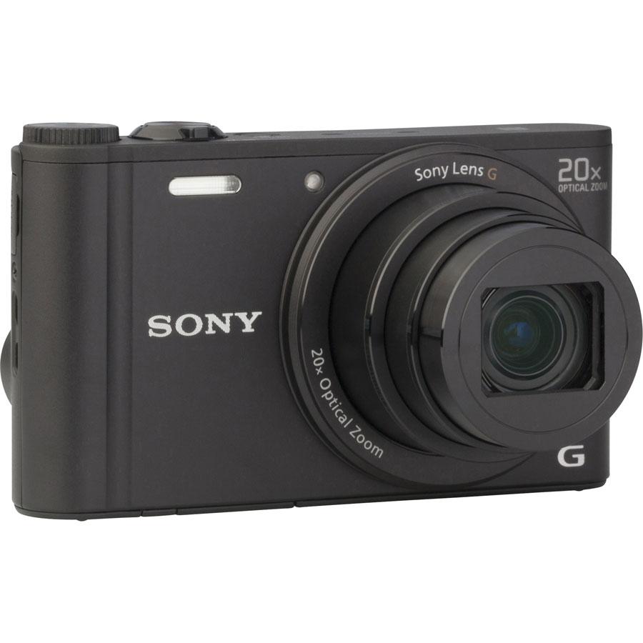 Sony Cyber-Shot DSC-WX350 - Vue de 3/4 vers la droite