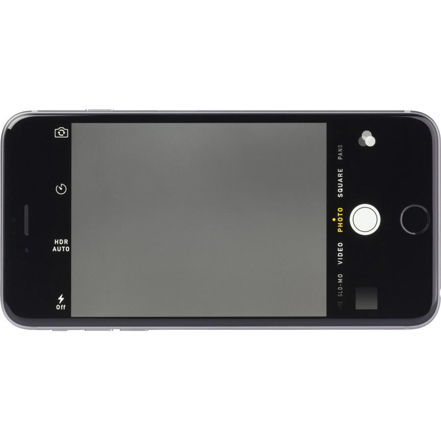 Apple iPhone 6 Plus - Ecran de commandes de la fonction appareil photo