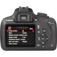 Canon EOS 1200D + EF-S 18-55 mm IS II - Vue de dos