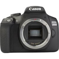 Canon EOS 2000D + EF-S 18-55 mm IS II - Vue de face sans objectif