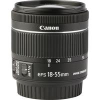 Canon EOS 200D + EF-S 18-55 mm IS STM - Vue de l'objectif