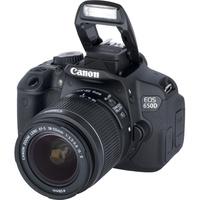 Canon EOS 650D + EF-S 18-55mm IS II