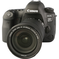 Canon EOS 6D Mark II + EF 24-105 mm IS STM 								- Vue principale