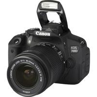 Canon EOS 700D + EF-S 18-55 mm IS STM - Vue principale