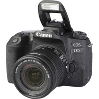 Canon EOS 77D + EF-S 18-55 mm F4-5,6 IS STM - Vue principale