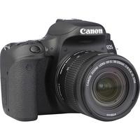 Canon EOS 77D + EF-S 18-55 mm F4-5,6 IS STM - Vue de 3/4 vers la droite