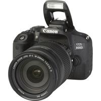 Canon EOS 800D + EF-S 18-200 mm IS - Vue principale