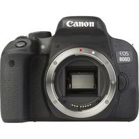 Canon EOS 800D + EF-S 18-200 mm IS - Vue de face sans objectif